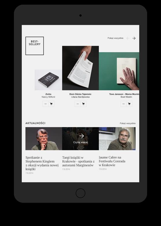 Wydawnictwo Marginesy by Maciej Mach - UI/UX designer / Poland / Poznań