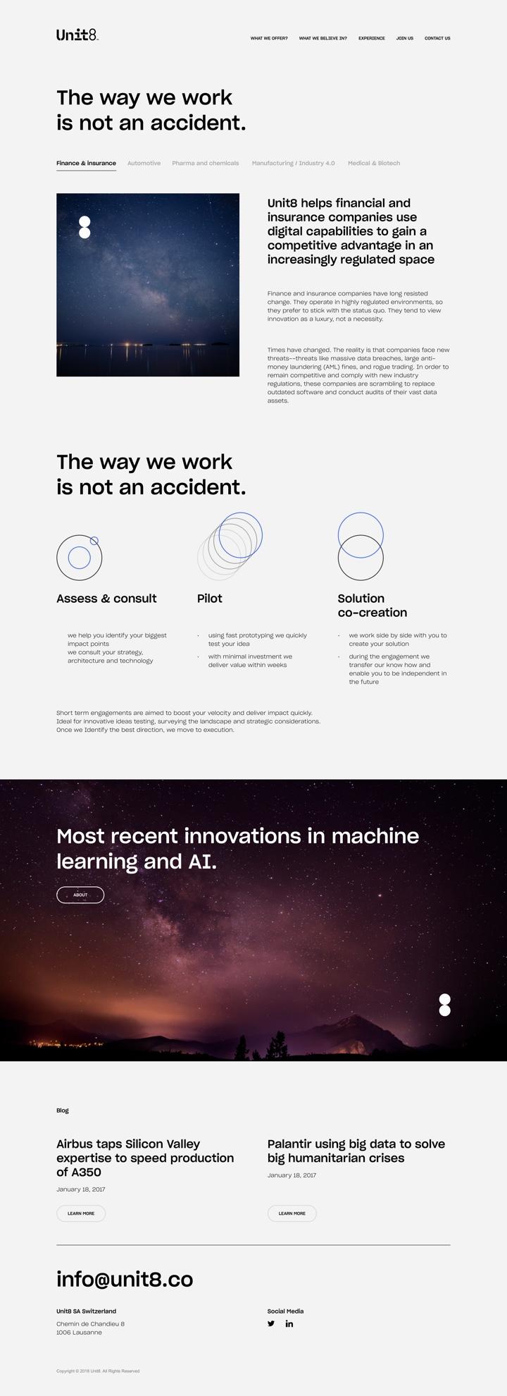 Unit 8 Case studies design by Maciej Mach