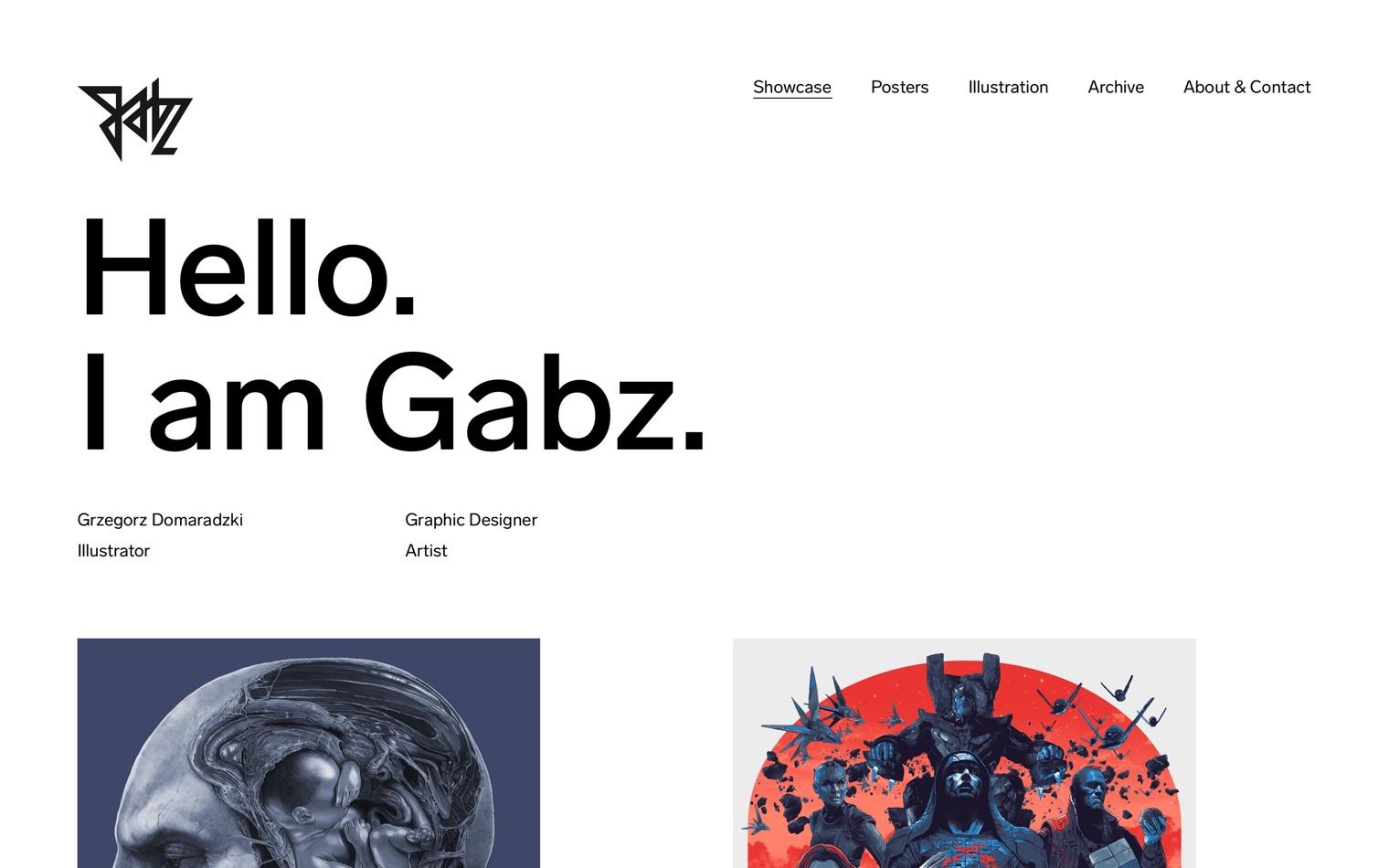Grzegorz Domaradzki portfolio by Maciej Mach