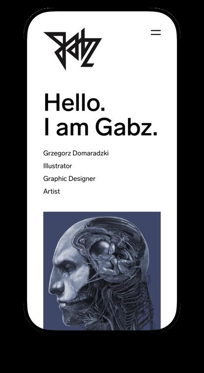 Grzegorz Domaradzki Mobile portfolio by Maciej Mach