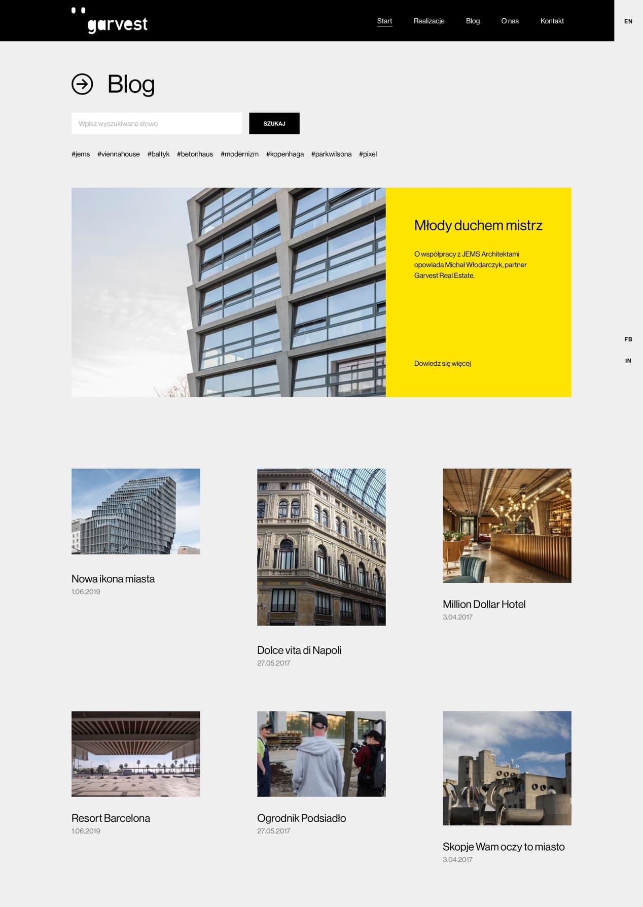 Garvest by Maciej Mach - UI/UX designer / Poland / Poznań