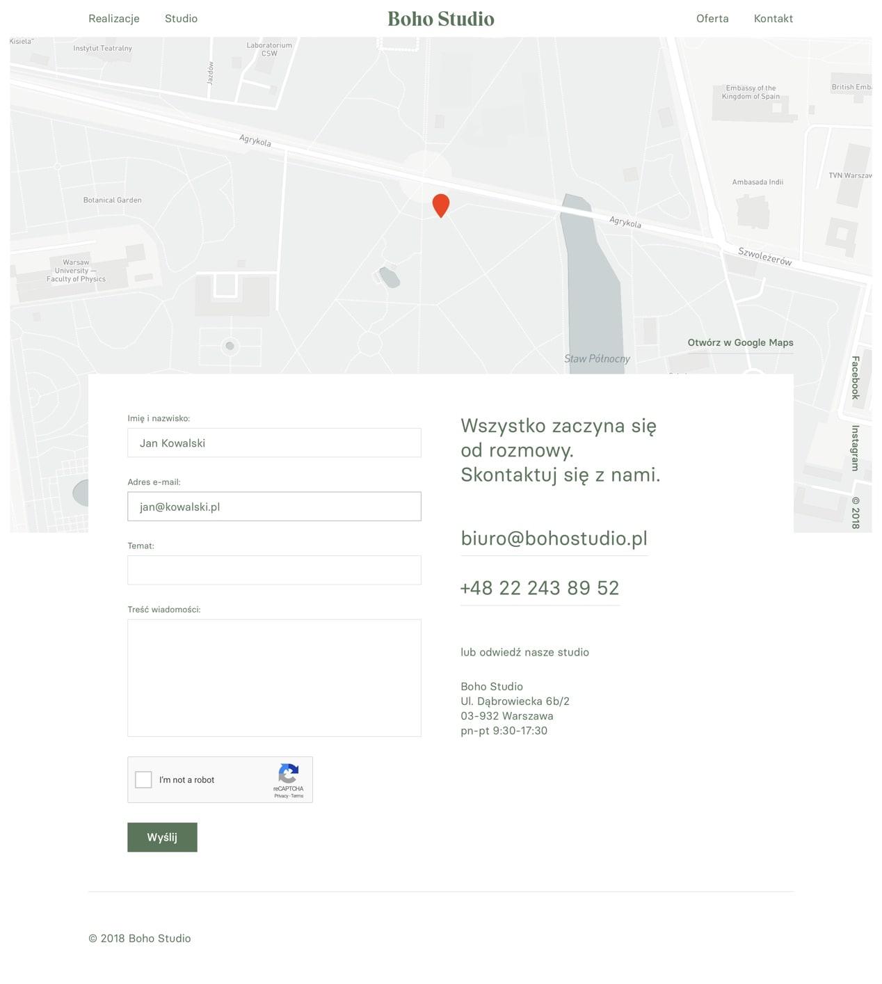 Boho Studio by Maciej Mach - UI/UX designer / Poland / Poznań