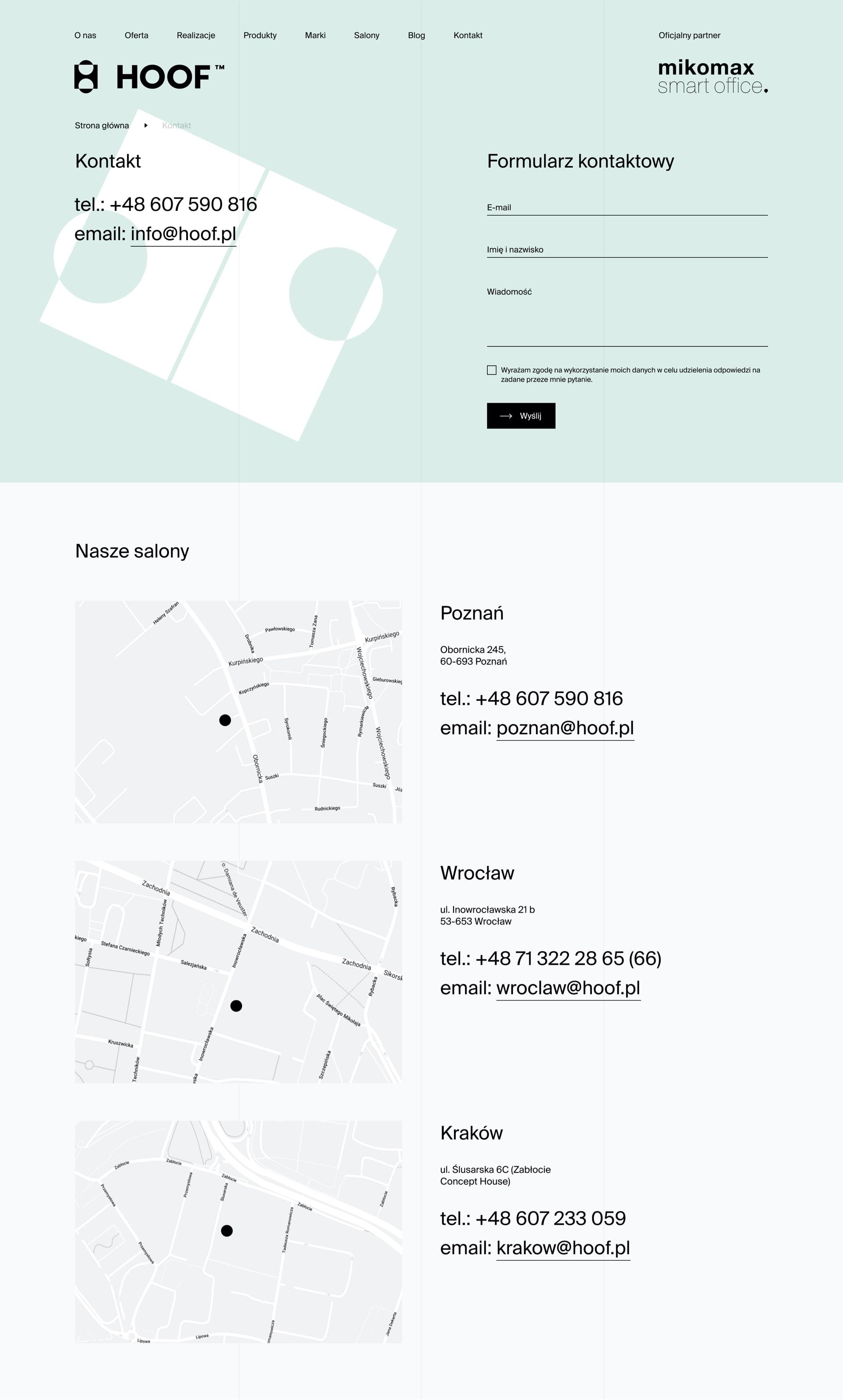 HOOF by Maciej Mach - UI/UX designer / Poland / Poznań