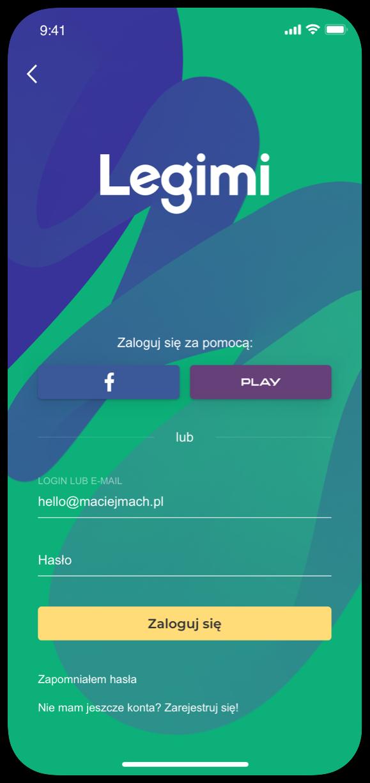 Legimi by Maciej Mach - UI/UX designer / Poland / Poznań