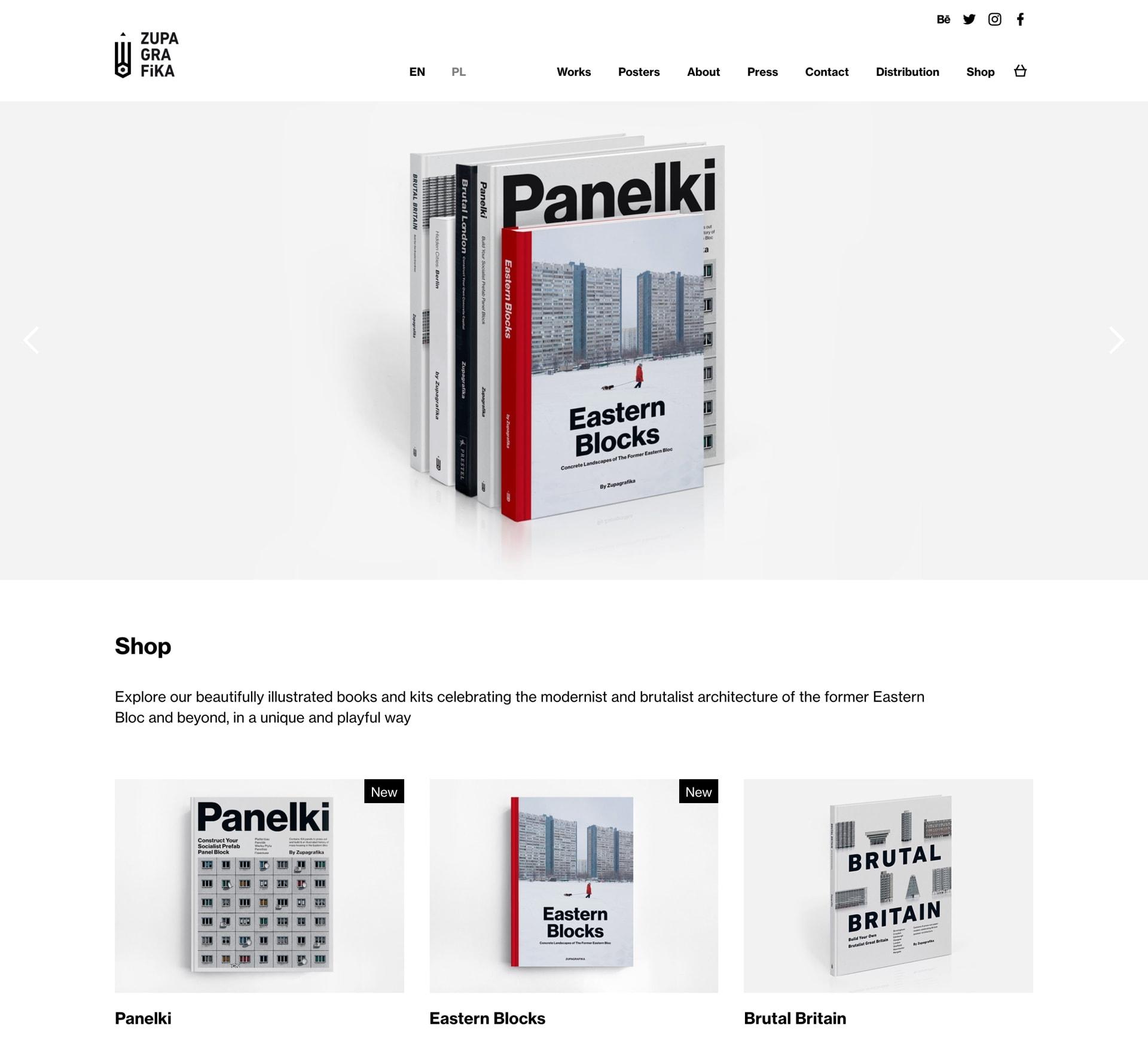 Zupagrafika by Maciej Mach - UI/UX designer / Poland / Poznań