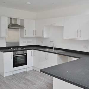 Kitchen in Bournemouth property for sale