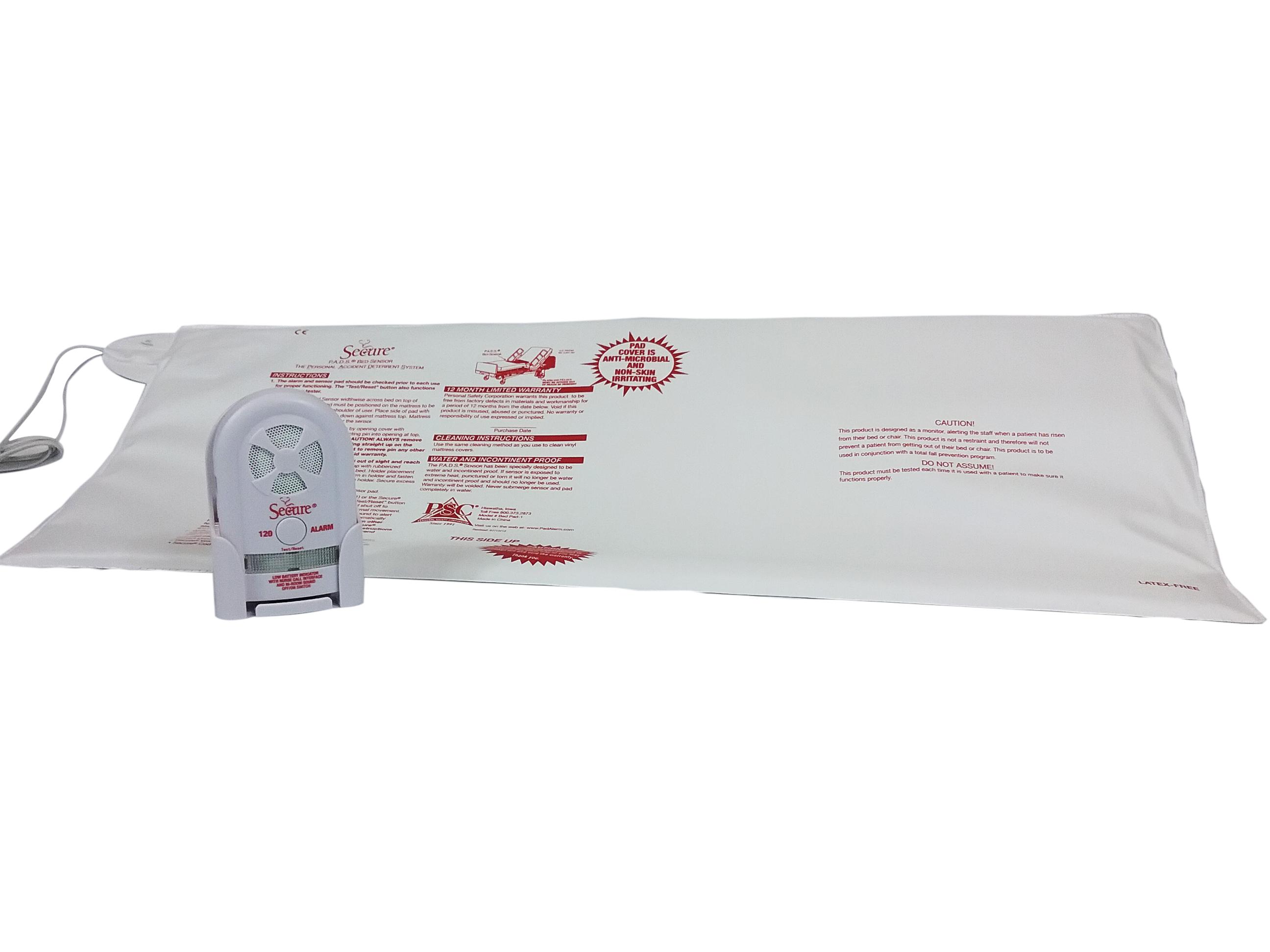 Bed & SeatPadSensorAlarmSet