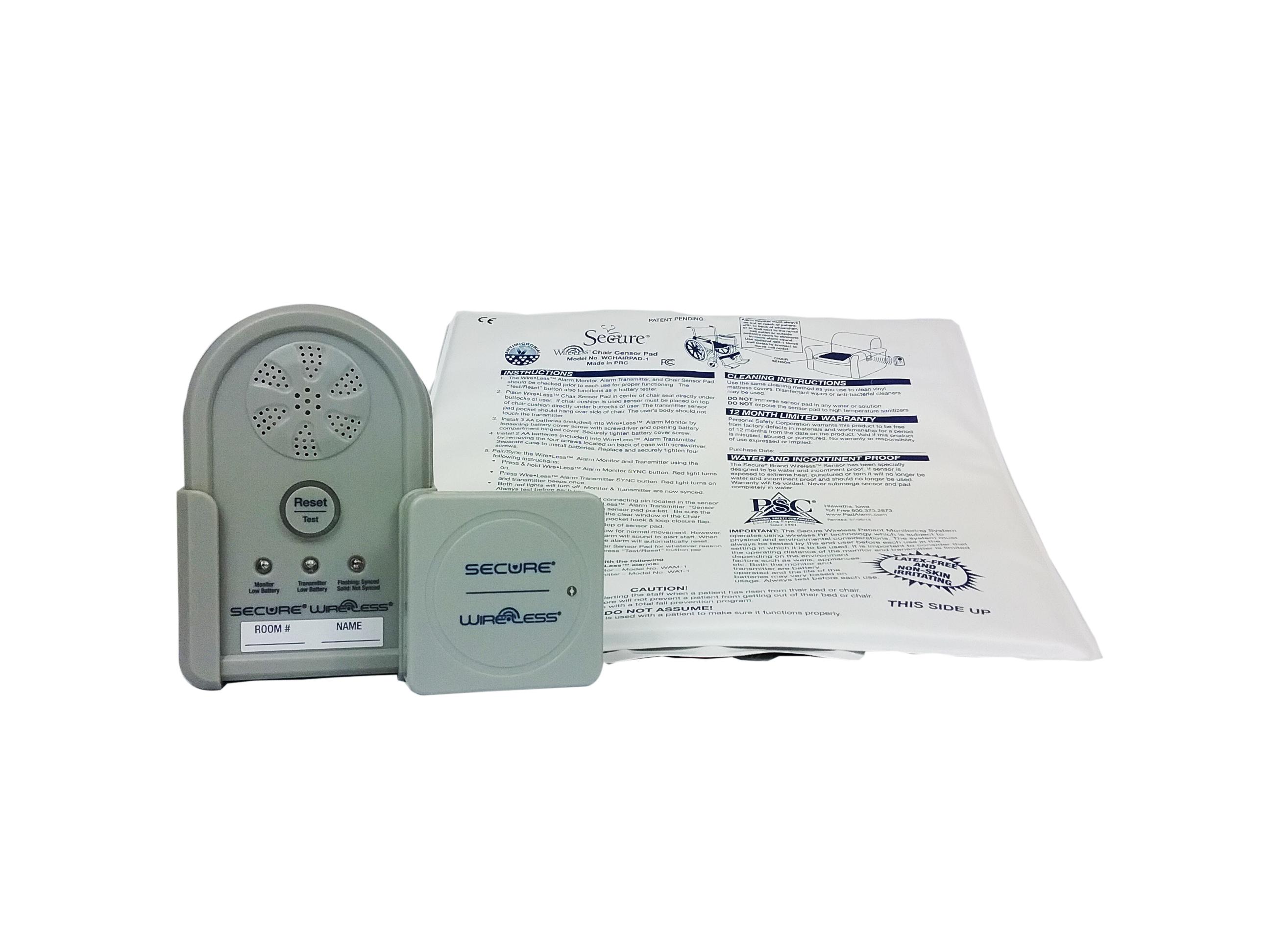 Wireless® Chair Sensor Pad Alarm
