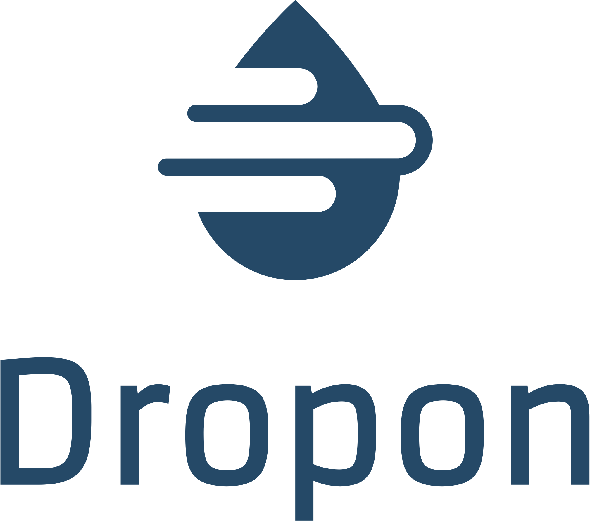 Logo start-up Dropon