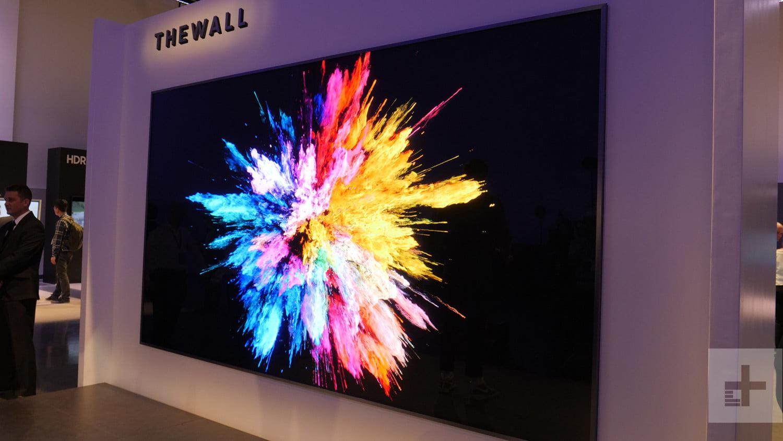 Samsung 146 MicroLED-näyttö