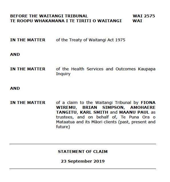 Treaty of Waitanga Act 1975
