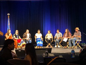 Native American nutrition youth panel