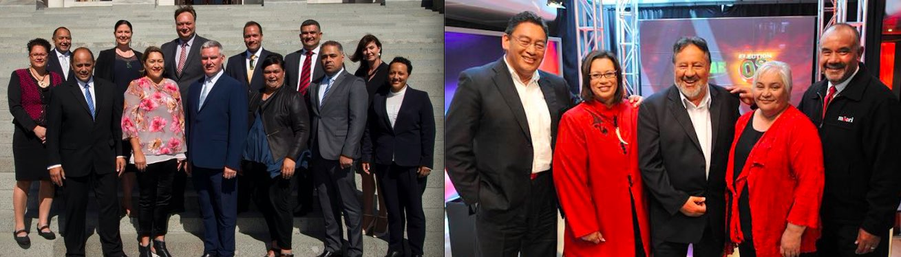 Labour Maori party and caucus