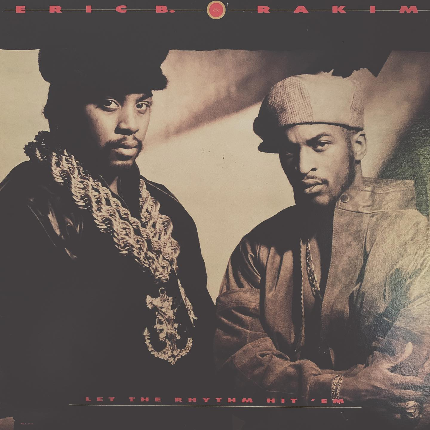 "#ondeck - Eric B and Rakim ""Let the Rhythm Hit 'Em"" - just some old school classic MCs"