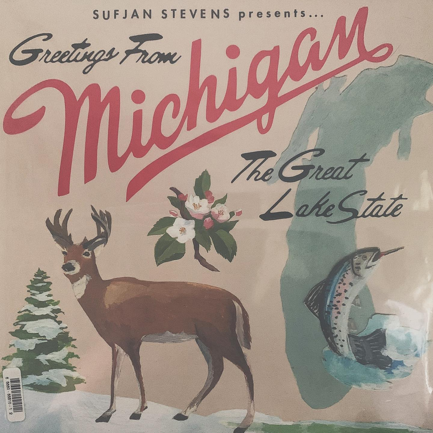 "#ondeck - Sufjan Stevens ""Michigan"": the perfect blend of melancholy and nostalgia for your home. Beautiful vocal arrangements and instrumentation. A good listen for when the rain has finally stopped"