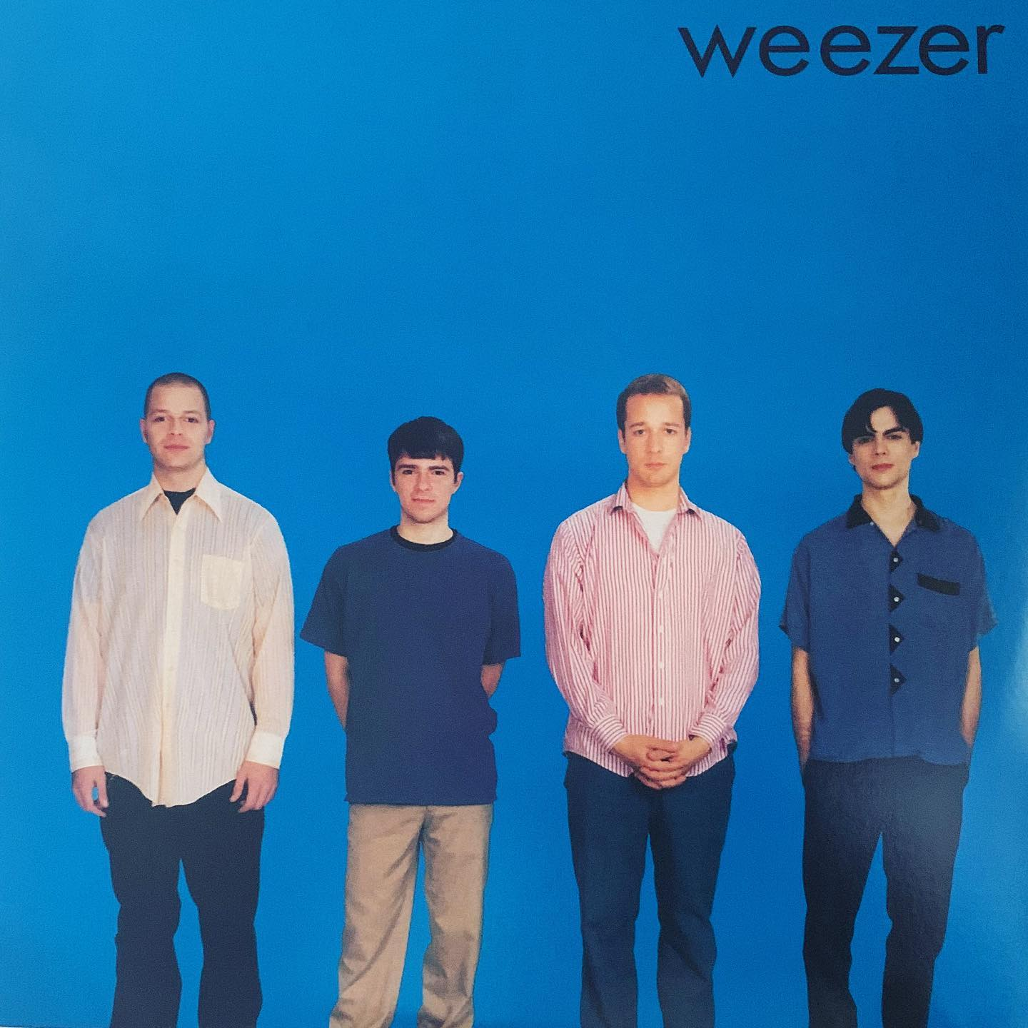 "#ondeck - Weezer ""Blue Album"": no real explanation needed. A classic 90s rock record"