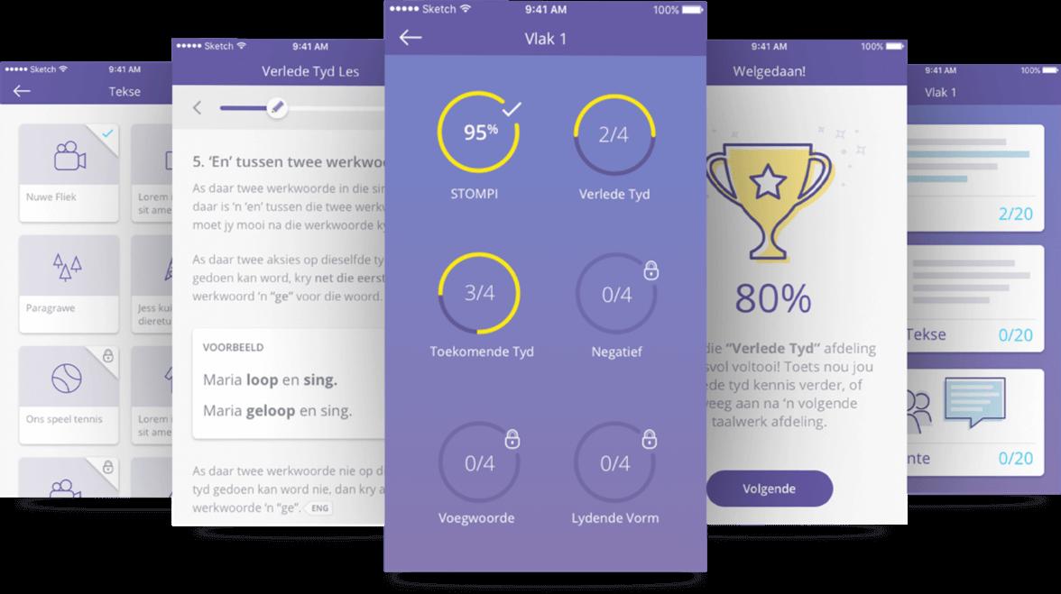 Slimvis Mobile App Screen Designs