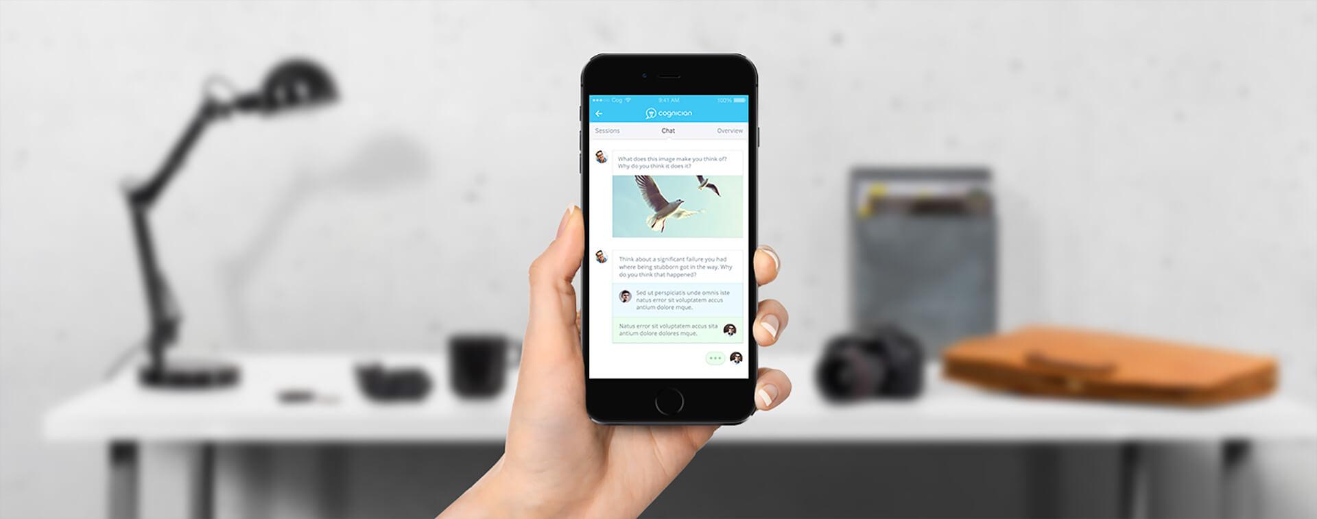 Cognition Mobile Design Mockup