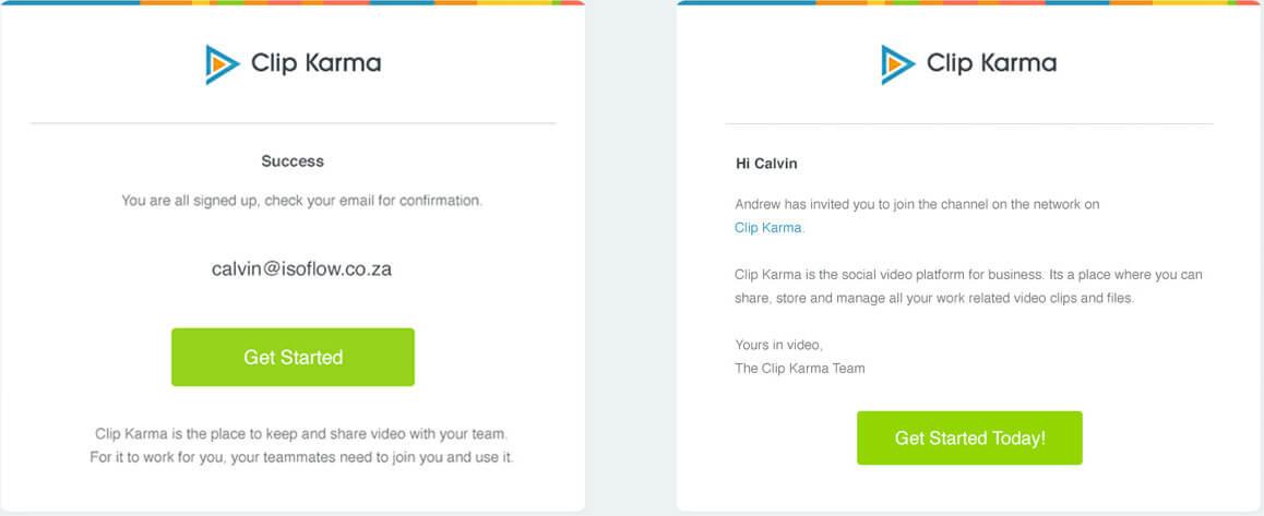 ClipKarma Email Templates