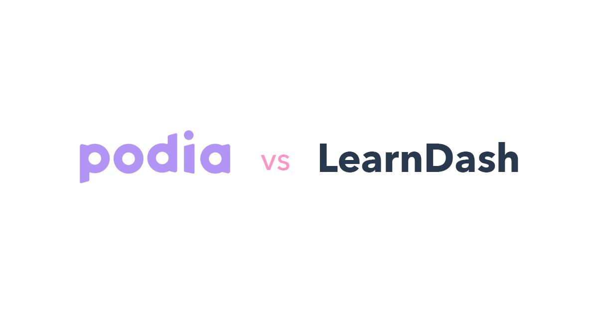Podia vs LearnDash