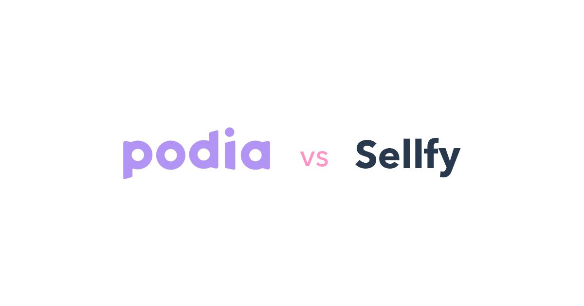 Podia vs Sellfy