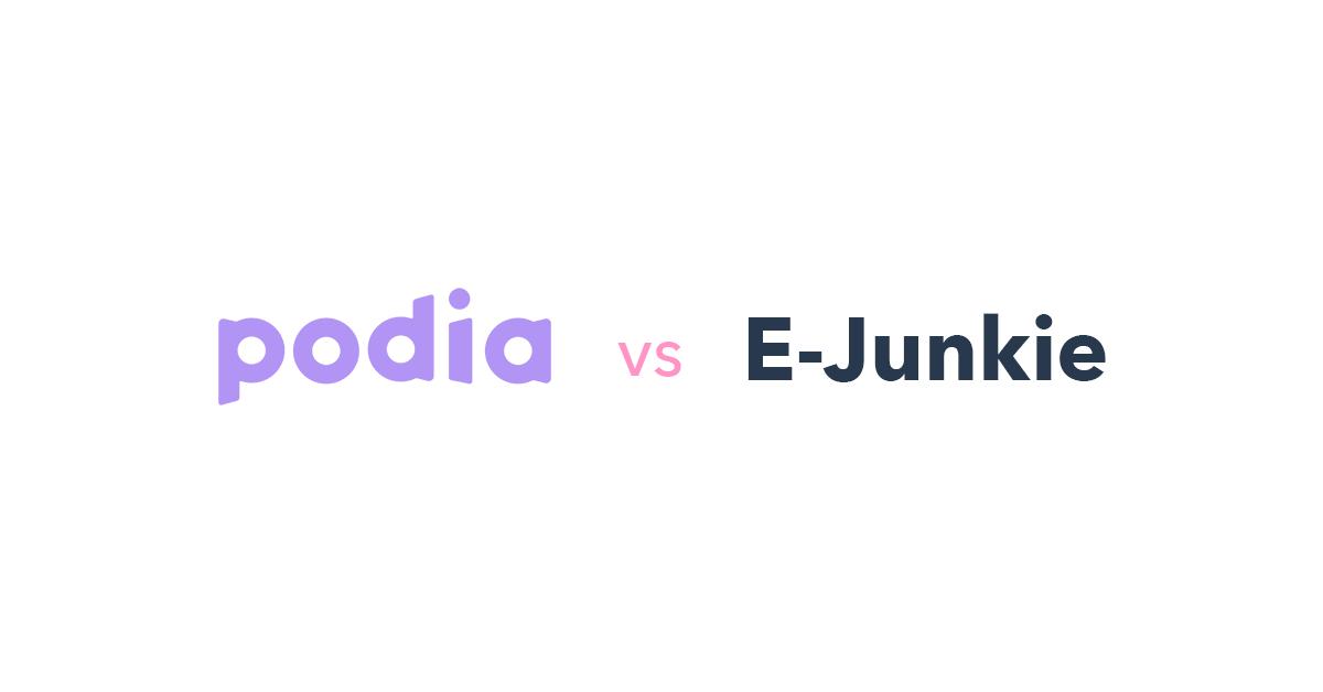 Podia vs E-junkie