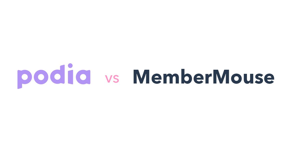 Podia vs MemberMouse