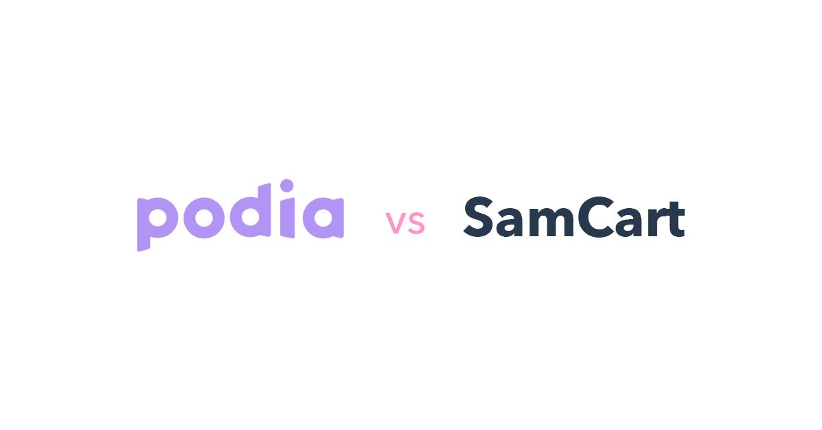 Podia vs SamCart