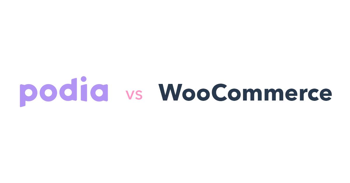 Podia vs WooCommerce