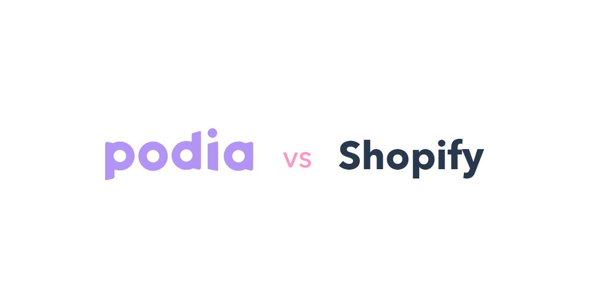 Podia vs Shopify