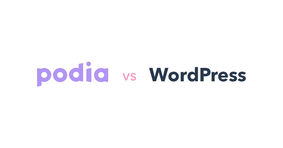 Podia vs WordPress