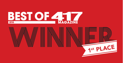 1st place winner 417 magazine