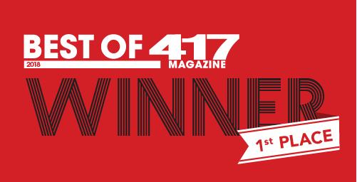 1st place winner 417 magazine