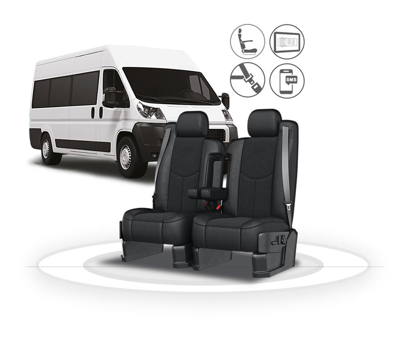 Shuttle with seats