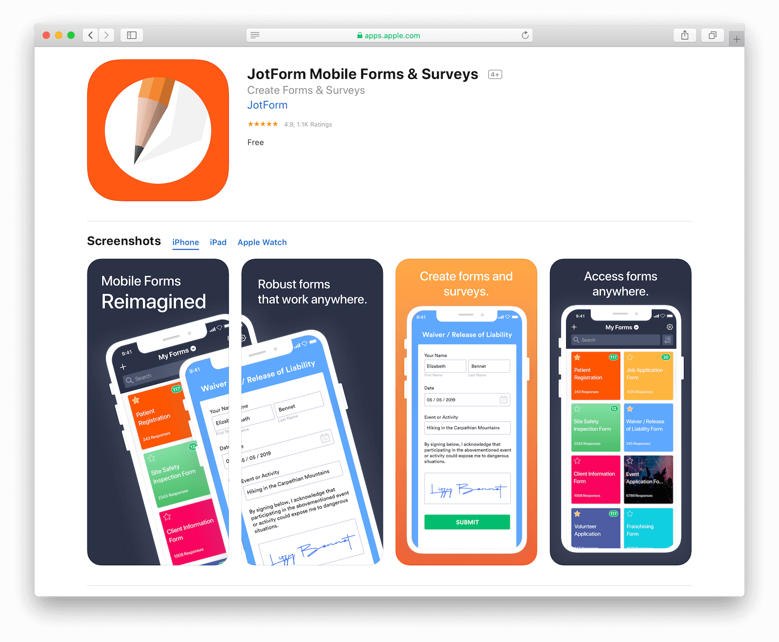 JotForm on the App Store