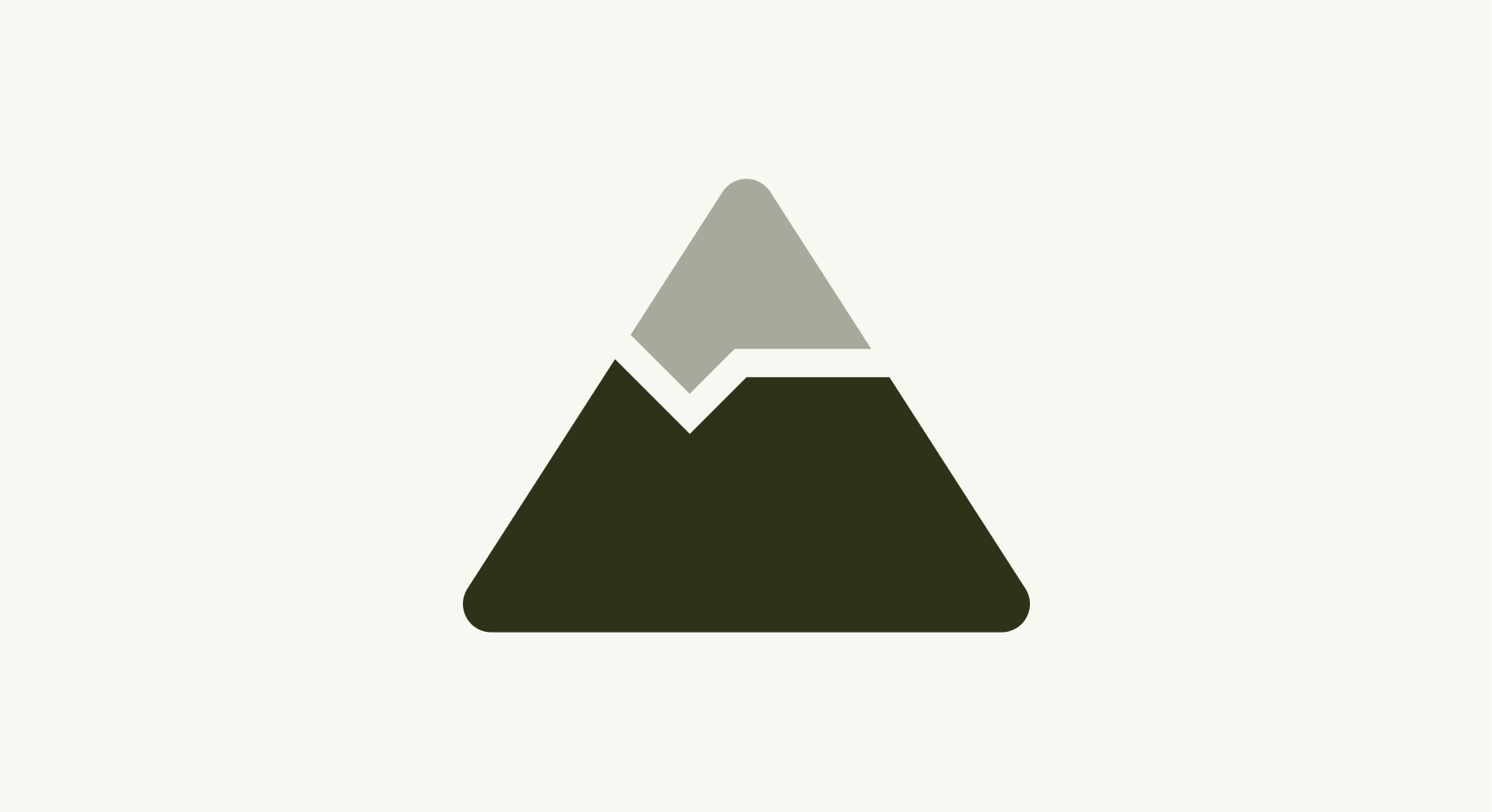 Icon of a mountain
