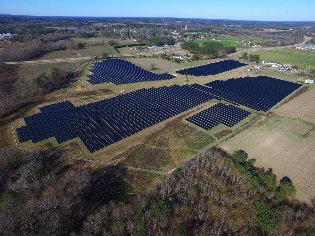 Commercial Solar Array, Solar Project