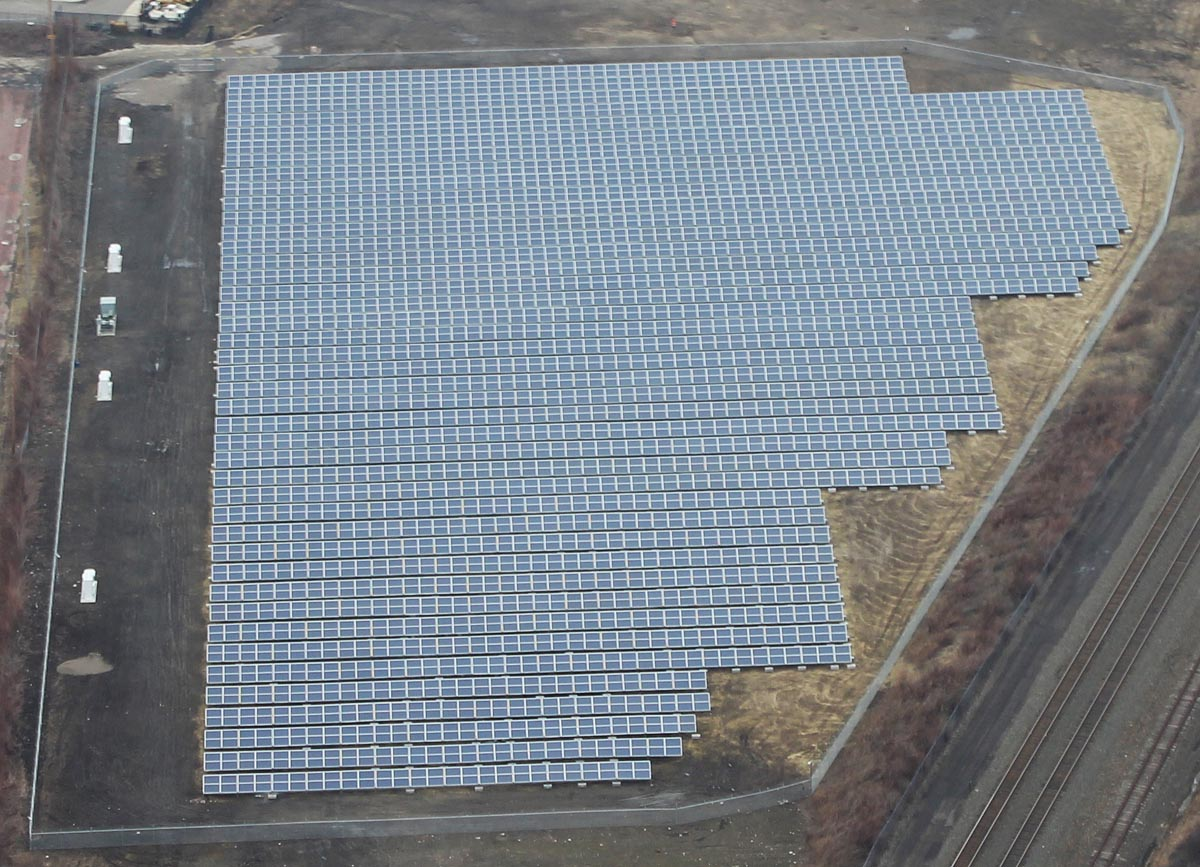 Solar Array, Ground Mount