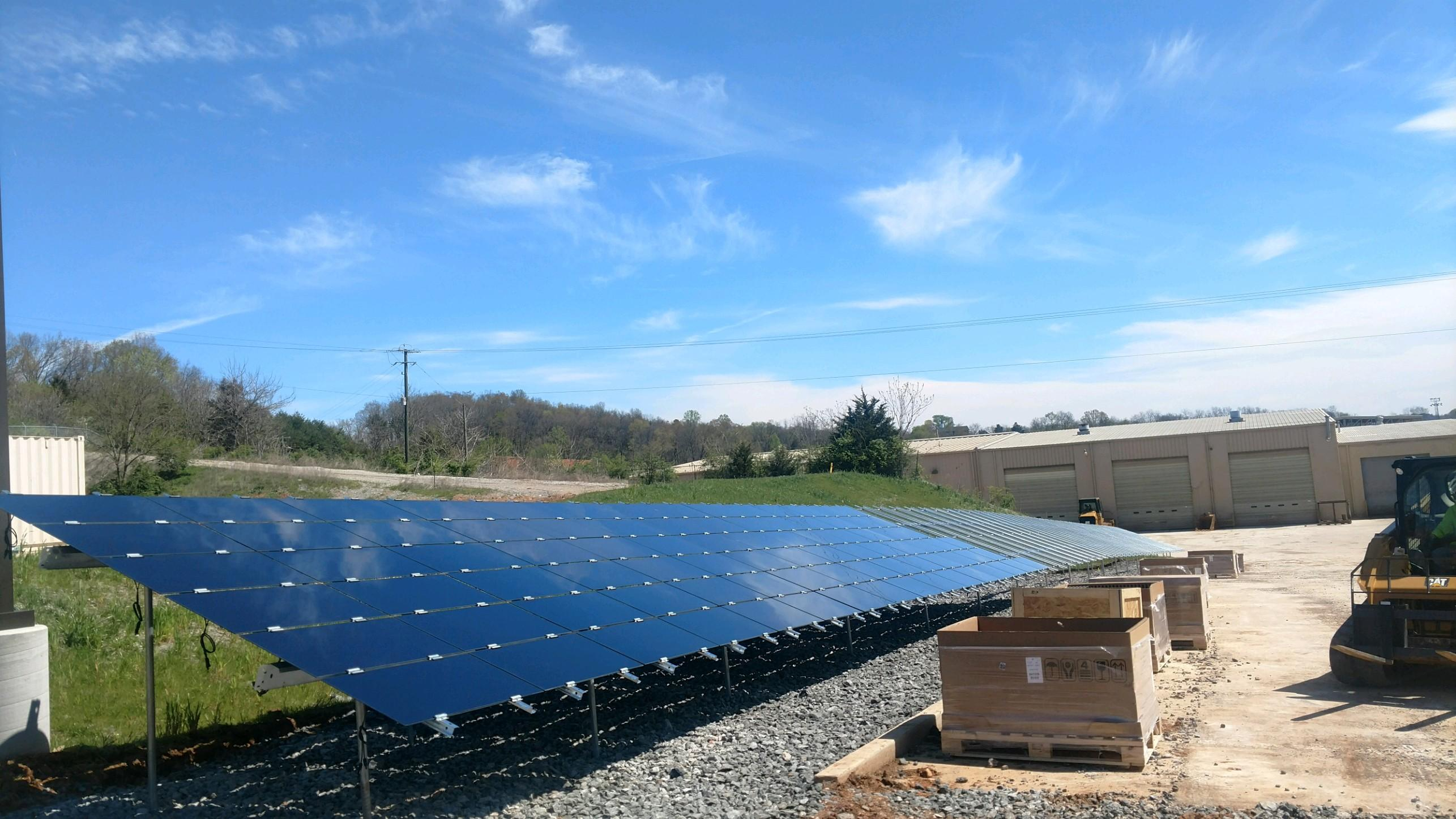 36.80kW, Adv Mod, First Solar Panels, Racking
