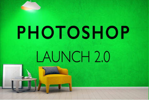 photo of photoshop launch interior design rendering tutorial