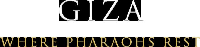 giza where pharaohs rest