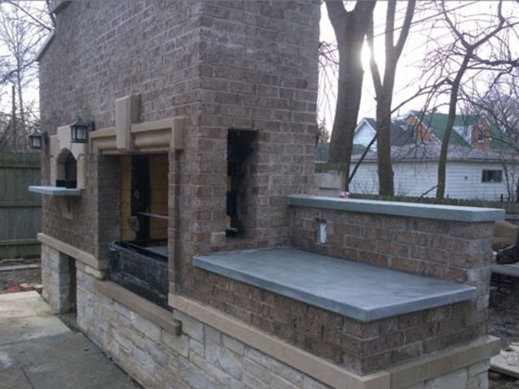 Backyard Grill Chicago custom grills