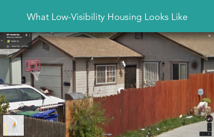 low-visibility housing