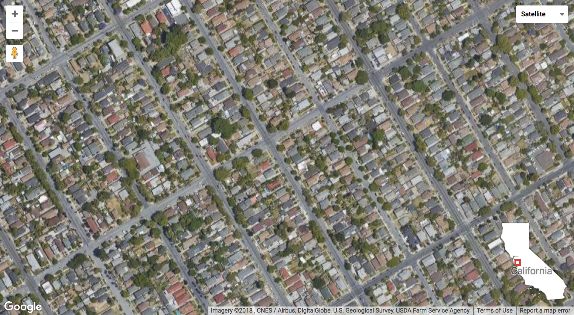 a satellite view shows what census enumerators may miss