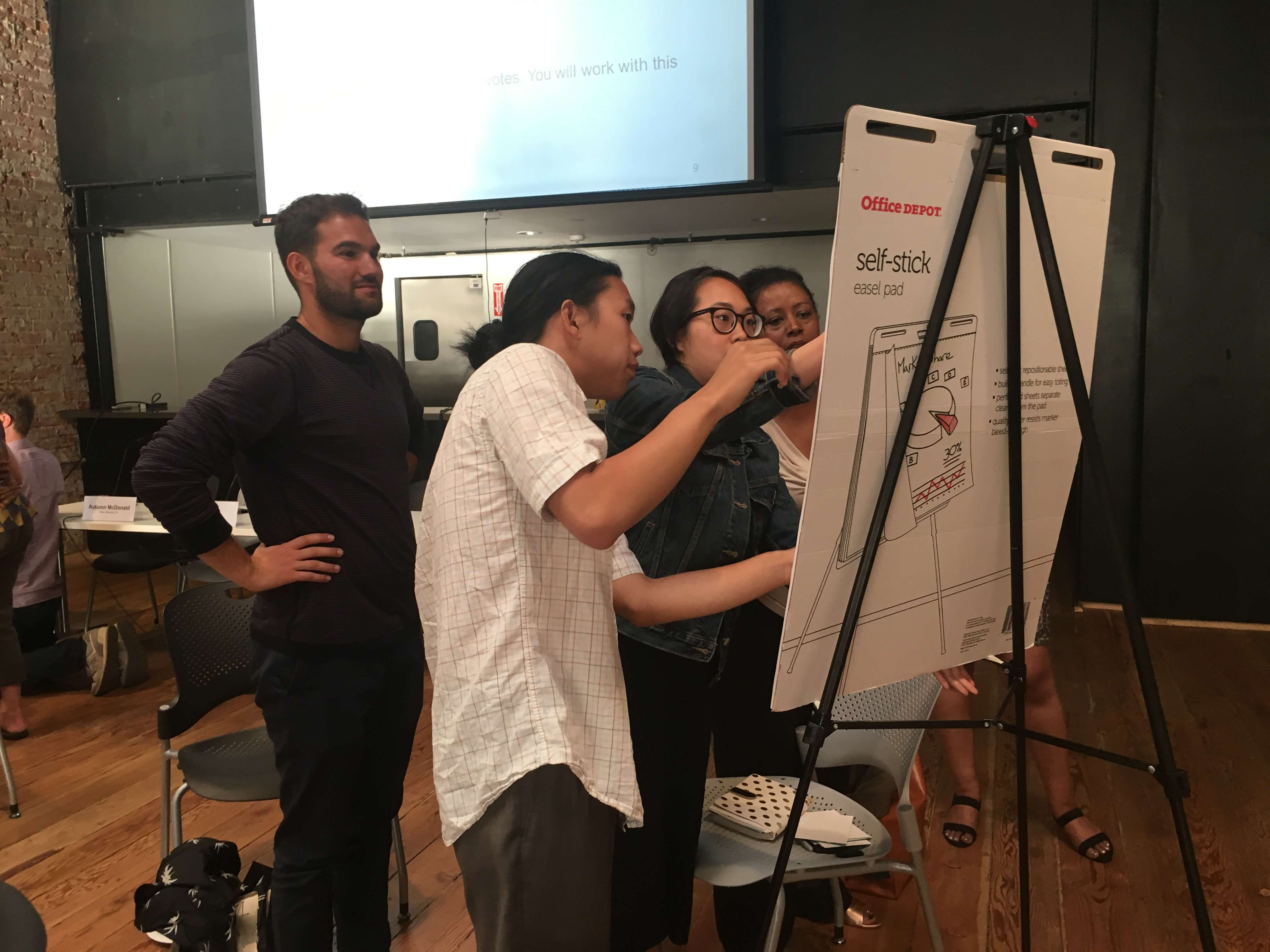 census workshop participants