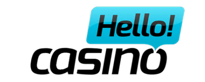 Hello Casino Get 100% deposit bonus UP TO €500 + 50 Bonus spins , no sticky bonus.