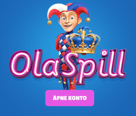 Get 20 Free Spins on signup on OLA SPILL!