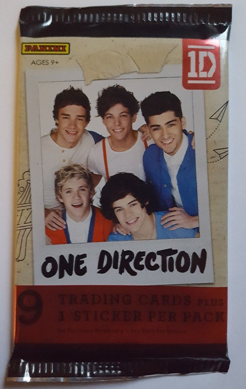One Direction Trading Card Pack, One Direction