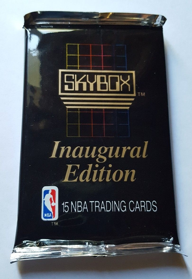 1990 Skybox Basketball Trading Card Pack
