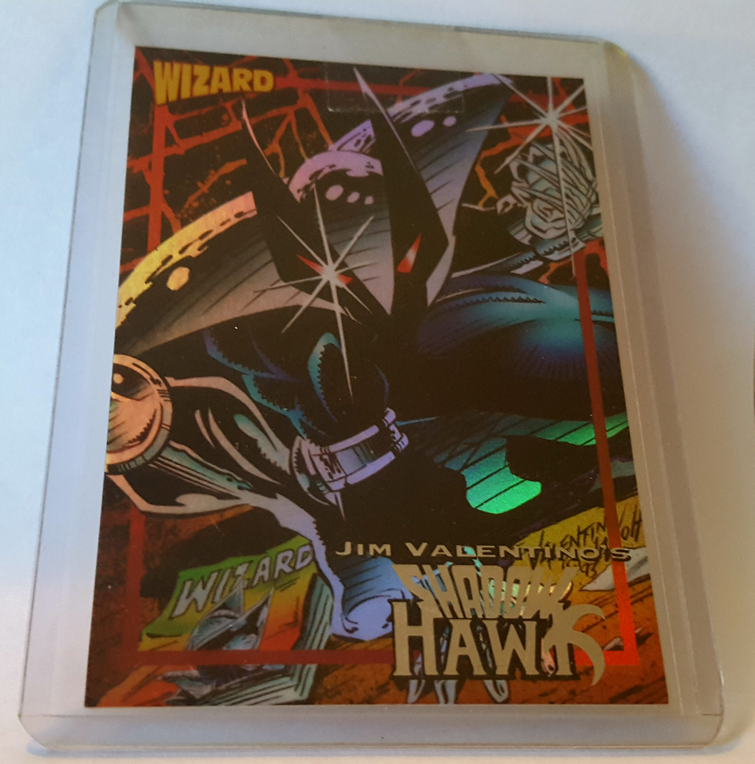 Wizard Shadow Hawk Promo Trading Card